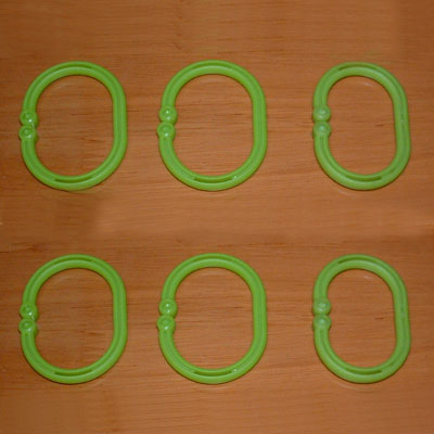 China Curtain Rings, Plastic Eyelets, Plastic Curtain Rings ...